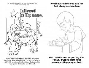 Parent help about prayer