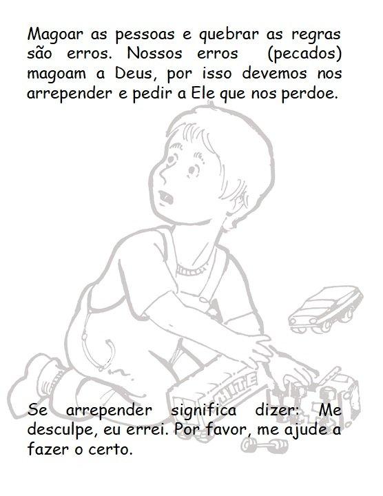 Prière du Seigneur à colorier pour les enfants en bportth