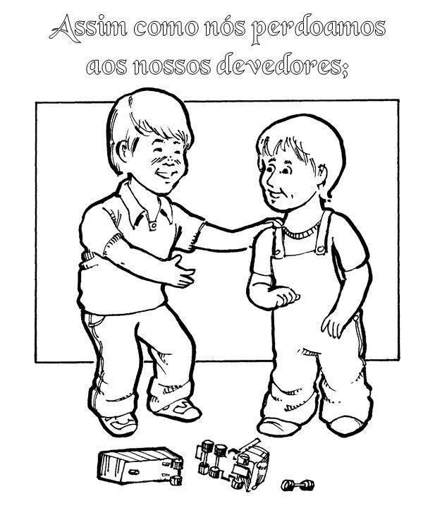 Aulas de oração infantil em português