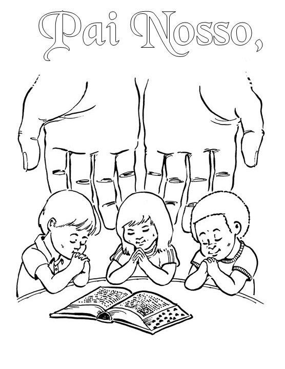 A oração do Senhor para crianças em português