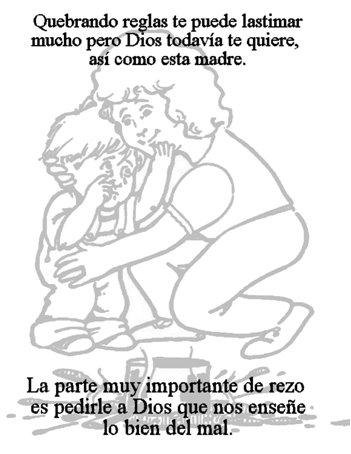 Prayer lessons just for kids espanol