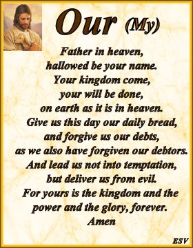 The Lord's prayer English